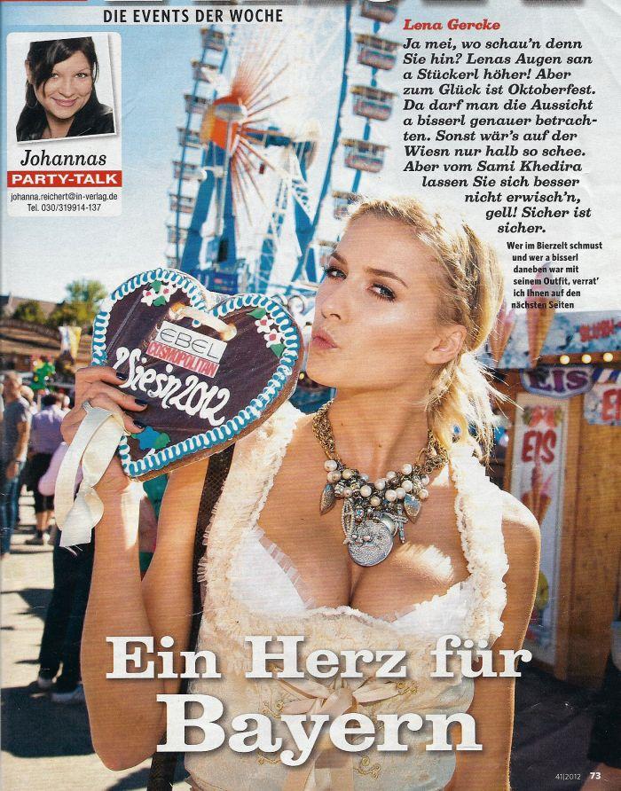 Ophelia Blaimer - Celebrities - Lena Gercke
